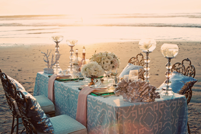 Styling Tips For Embracing A Beach Wedding Theme: Style Thirst