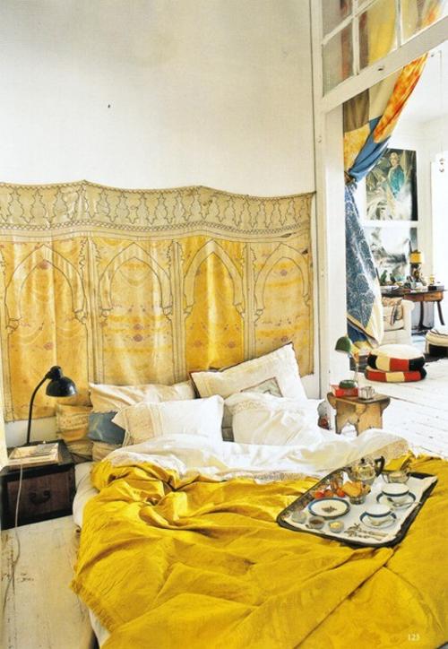 MarrakechMaryamYellowtextilesMorocco