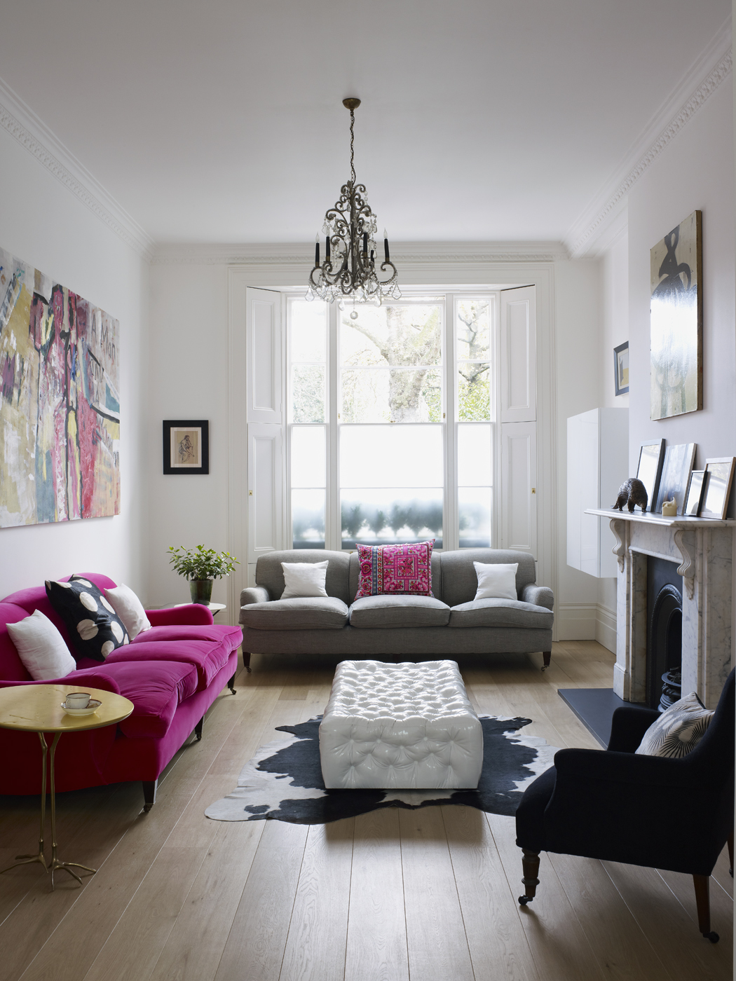 Sitting Room Interior Design: The London Look