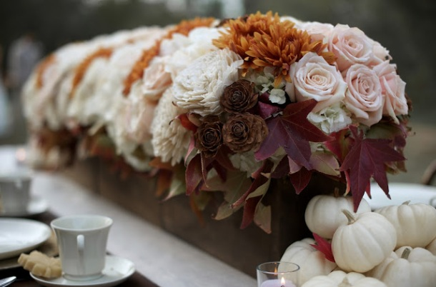 Fall Wedding Details