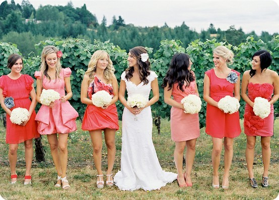 red-and-pink-bridesmaids-wedding-inspiration-board-by-Bridal-Musings
