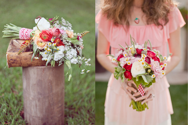 Strawberry-Summer-Bouquets