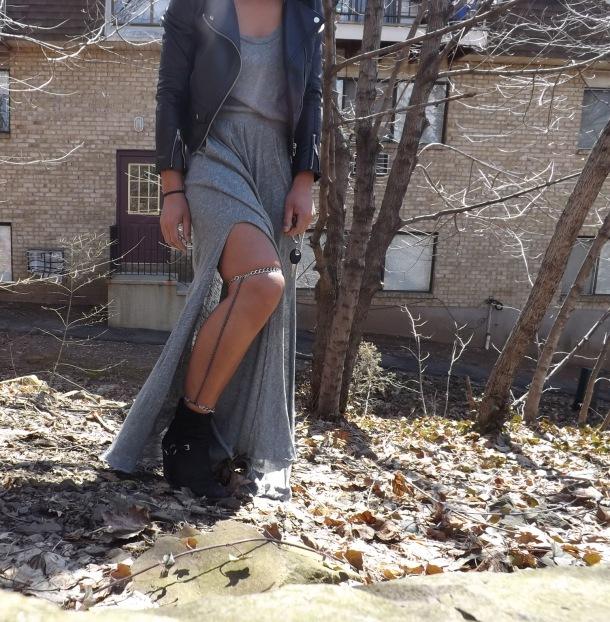 DIY Vanessa Mooney Leg Chain