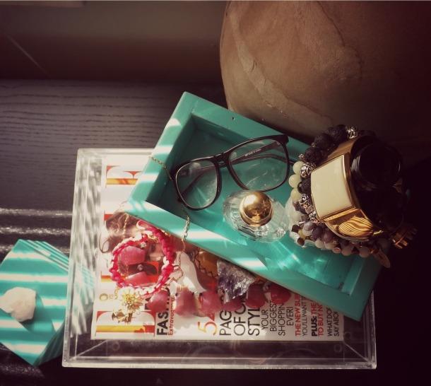 DIY Semi Precios Stone Jewelry Box