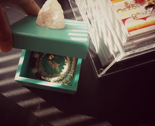 DIY Semi Precious Stone Box