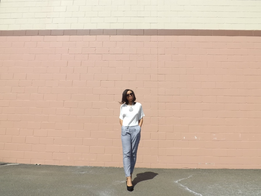 MGNSPR of Lower East Dry Goods trying out the soft pant 009