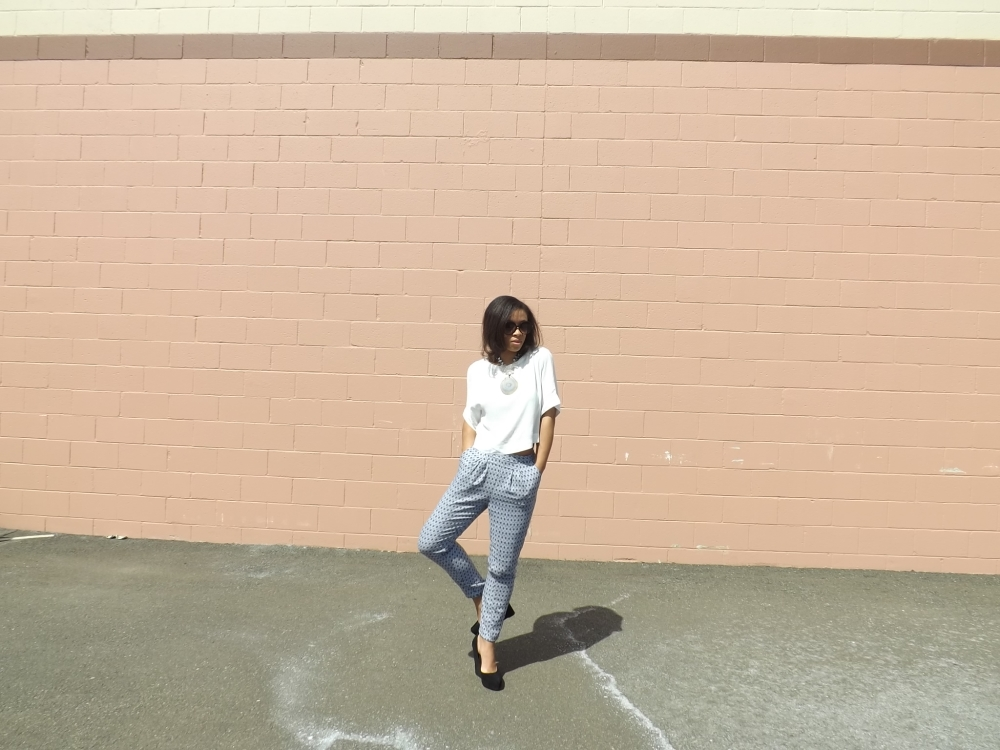 MGNSPR of Lower East Dry Goods trying out the soft pant 001
