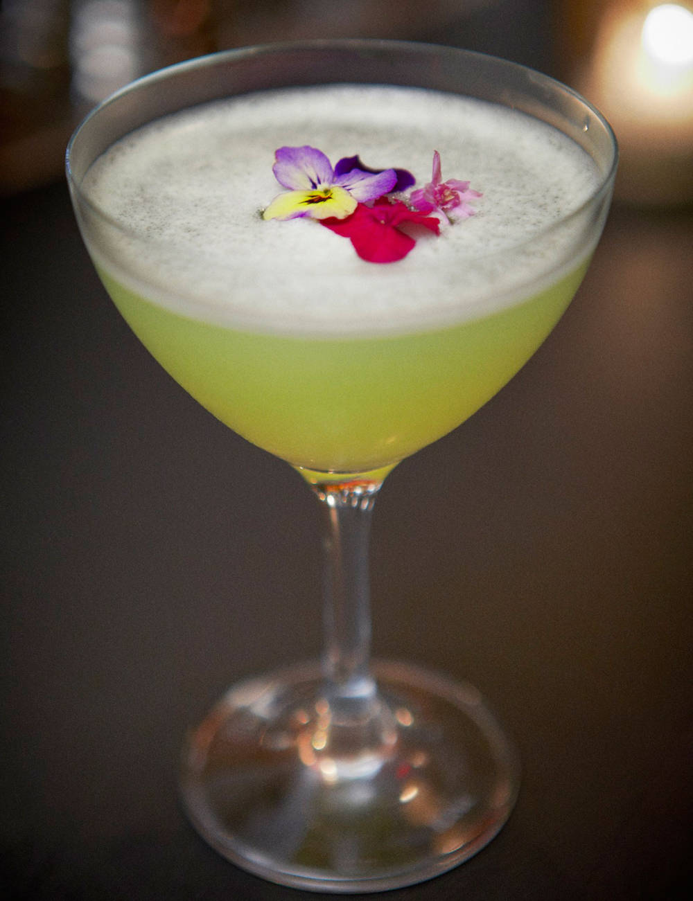 Say hello to Spring with a bison grass cocktail