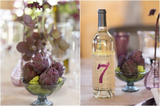 Artichokes and Table Numbers