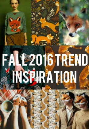 A/W 2016 Fashion Trend Inspiration