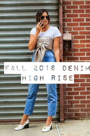 Sitting High – Fall 2016 Denim