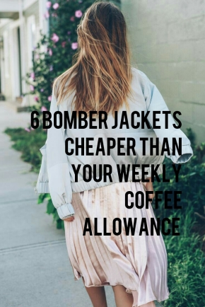 Bomber Jacket Inspiration + 6 Insanely Affordable Options