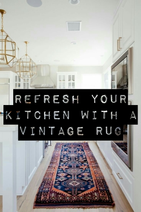 Vintage Rugs Have Found A New Home