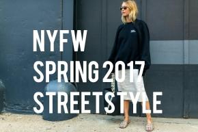 NYFW SS2017 Street Style