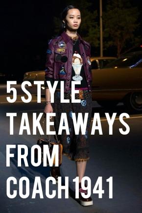 5 Style Takeaways From Coach1941
