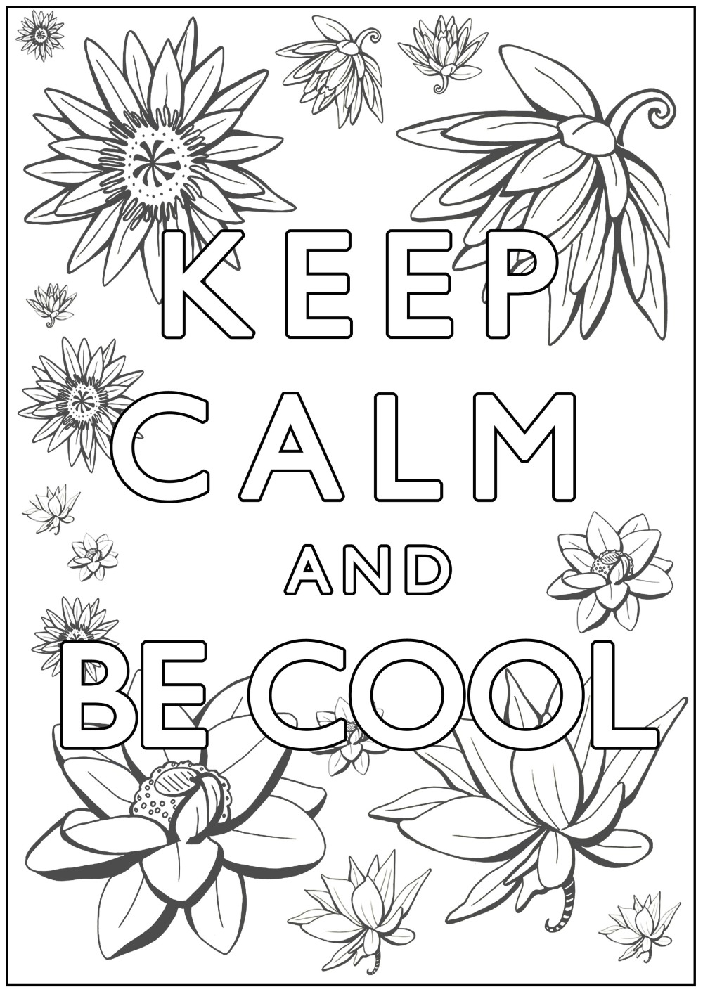 coloring-Keep-Calm-and-be-cool
