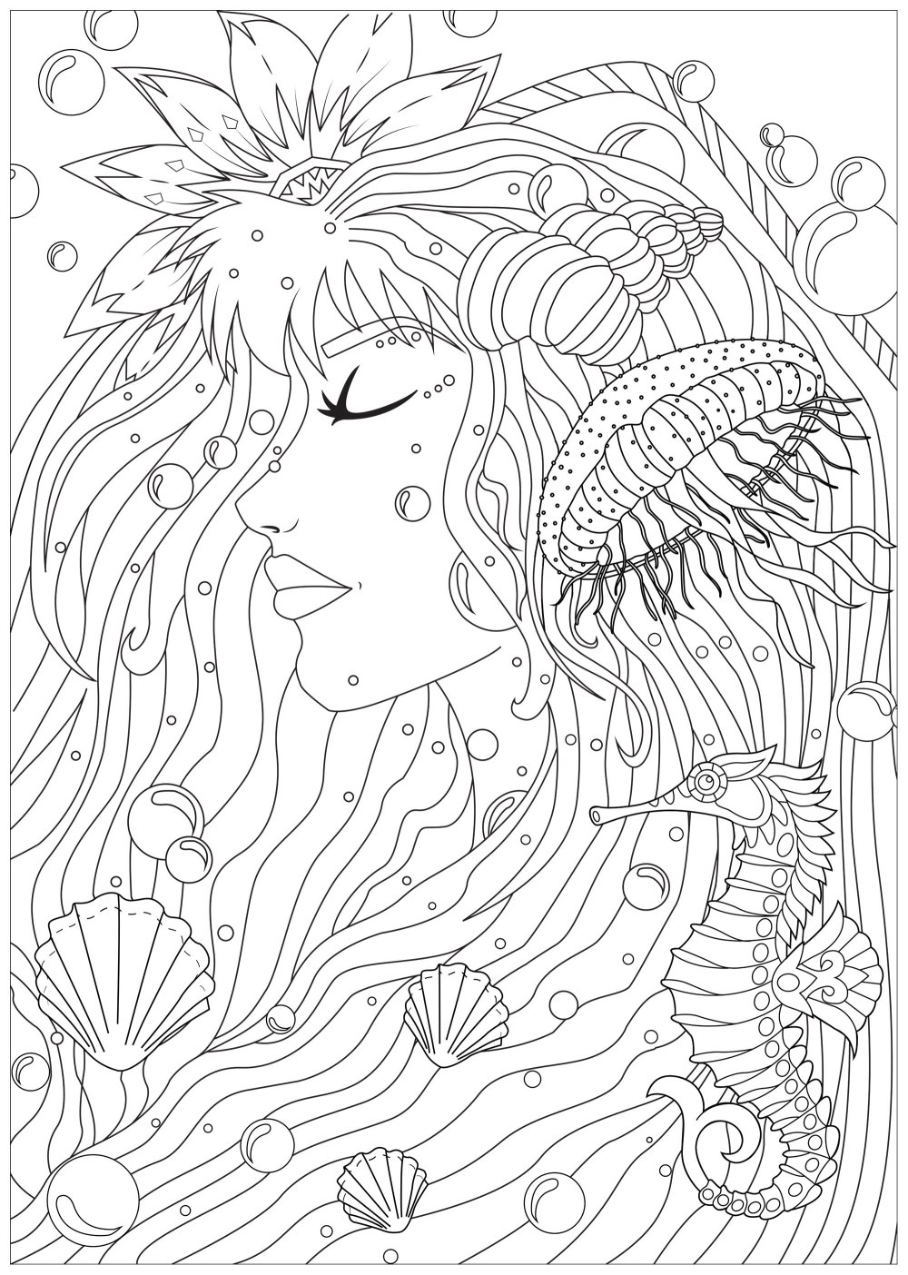 coloring-woman-of-the-seas