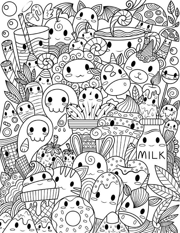 30+ Free Printable Coloring Pages For Escaping Reality ...